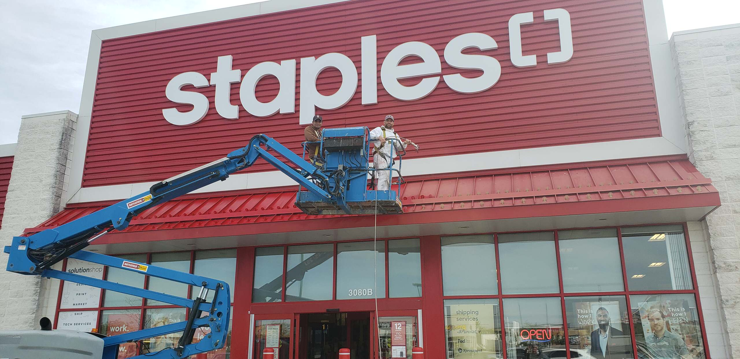 Staples Commercial 1
