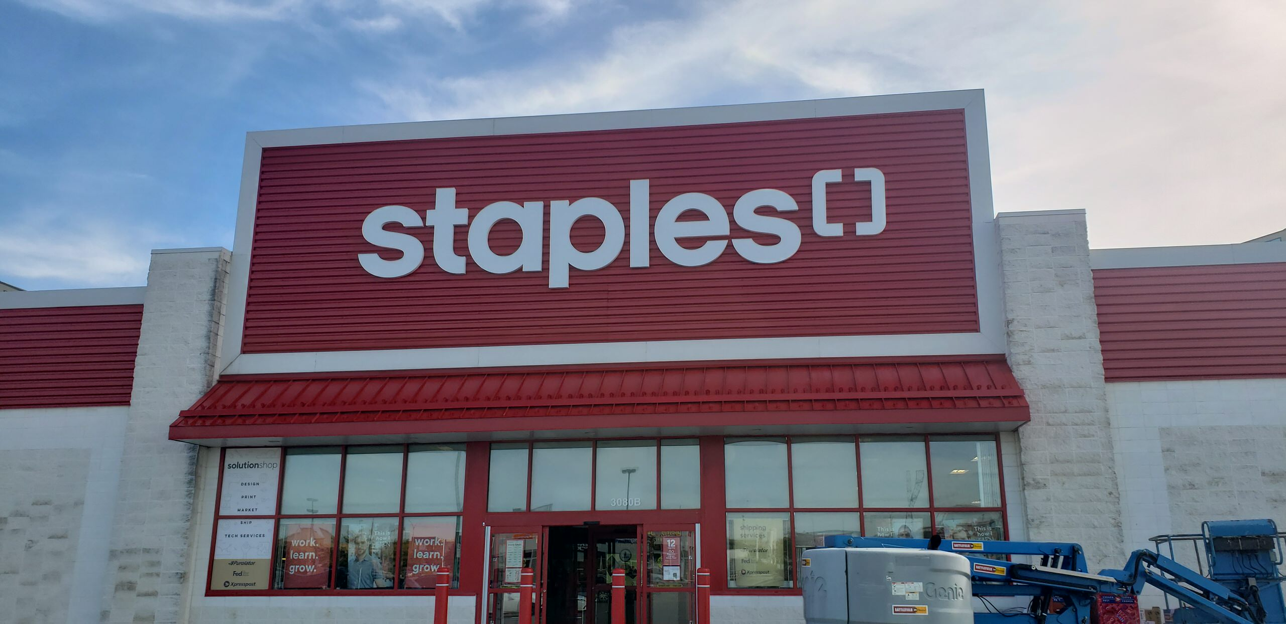 Staples Commercial 2