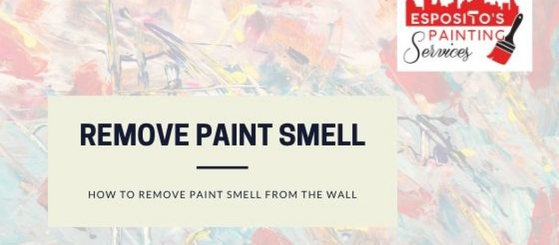 remove paint smell